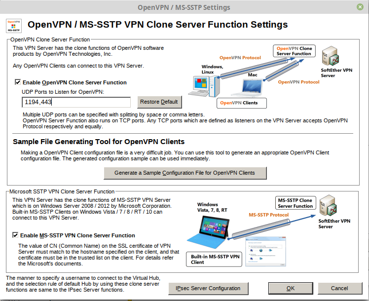 SoftEther VPN Setup with Dnsmasq and port forwarding | What